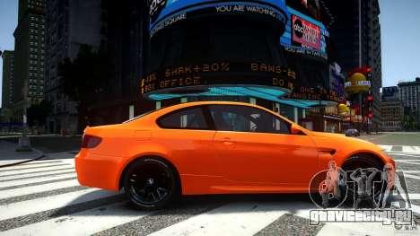 BMW M3 GT-S для GTA 4 вид слева