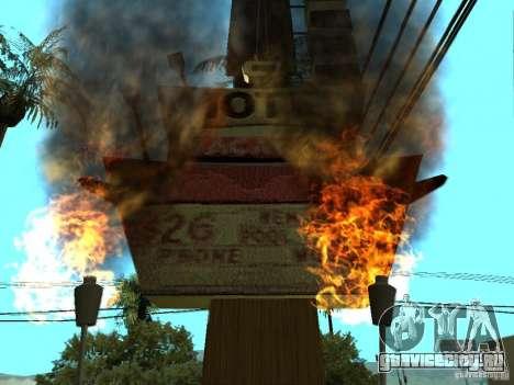Новые текстуры для казино Пилигрим для GTA San Andreas третий скриншот