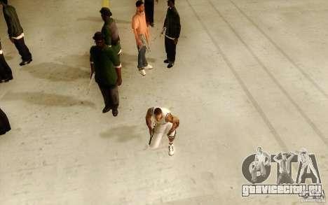 Sombras mais fortes em pedestres для GTA San Andreas второй скриншот