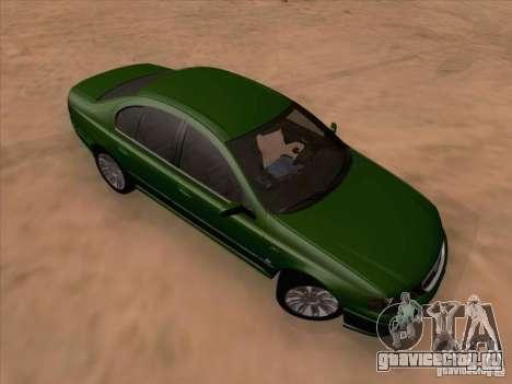Ford Falcon Fairmont Ghia для GTA San Andreas вид слева