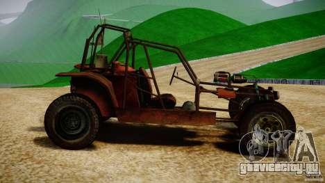 Half Life 2 buggy для GTA 4 вид слева