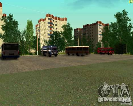 Автопарк в Арзамасе для GTA San Andreas второй скриншот