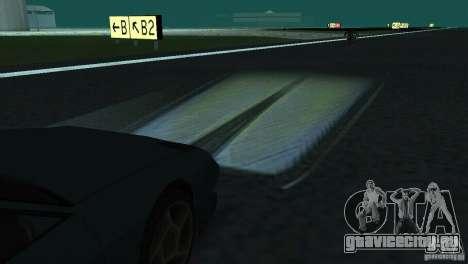 Галогенные фары для GTA San Andreas четвёртый скриншот