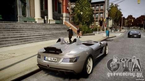 Mercedes-Benz SLR McLaren Stirling Moss [EPM] для GTA 4 вид снизу