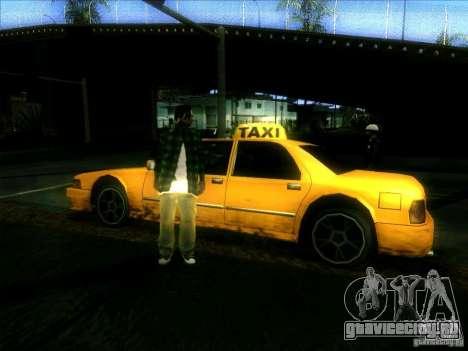 Sunrise Taxi для GTA San Andreas вид справа