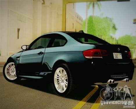BMW M3 E92 v2.0 для GTA San Andreas вид слева