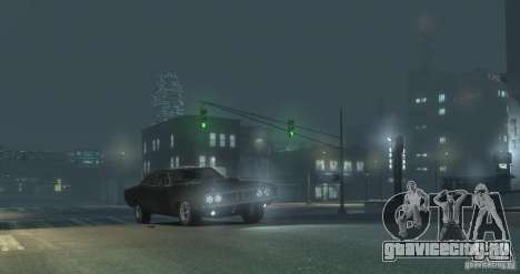 Dodge Charger RT 1969 Tun для GTA 4 вид сбоку