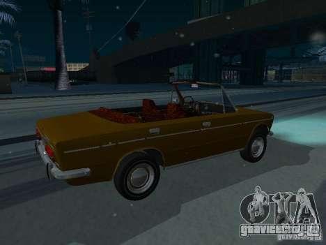 ВАЗ 2103 Кабриолет для GTA San Andreas вид сзади слева