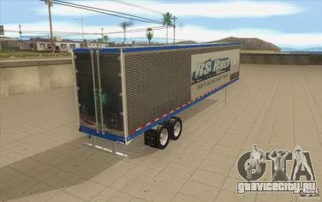 Прицеп для Truck Optimus Prime для GTA San Andreas вид сзади слева