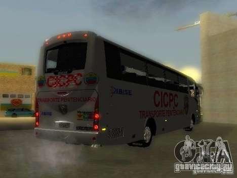 Irizar CICPC для GTA San Andreas вид слева