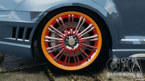 Mercedes-Benz S W221 Wald Black Bison Edition для GTA 4 салон