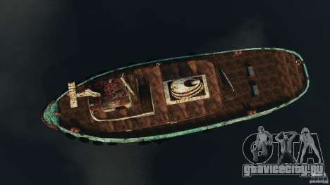 Realistic Rusty Tugboat для GTA 4