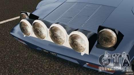 Lancia Stratos v1.1 для GTA 4 вид сбоку