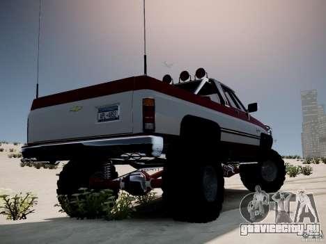 Rancher XL 3.0 для GTA 4 вид слева
