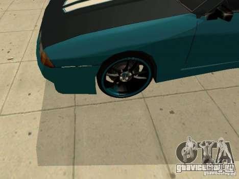 Elegy Forsage для GTA San Andreas вид сзади