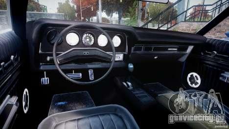 Ford Gran Torino 1975 для GTA 4 вид сзади