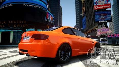 BMW M3 GT-S для GTA 4 вид сзади слева