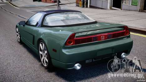 Honda NSX NA2 [Beta] для GTA 4 вид сзади слева