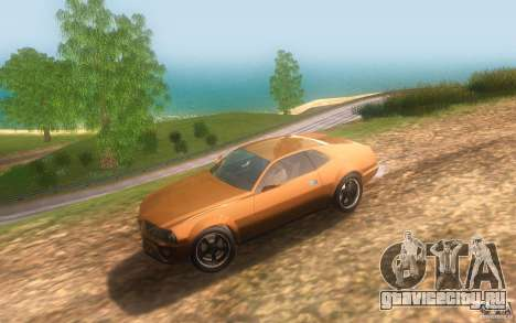 AMC Javelin 2010 для GTA San Andreas вид изнутри