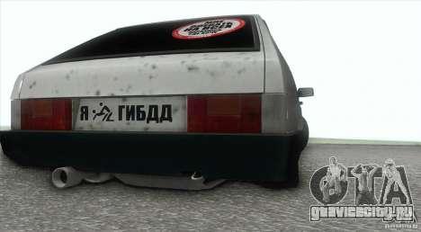 Ваз 2109 Бродяга для GTA San Andreas вид справа