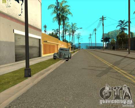 Car in Grove Street для GTA San Andreas восьмой скриншот