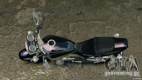 Kawasaki Zephyr для GTA 4 вид справа