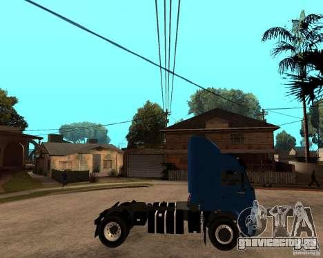 КамАЗ 5460М для GTA San Andreas вид справа