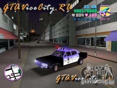 Police Ford AMC Matador для GTA Vice City