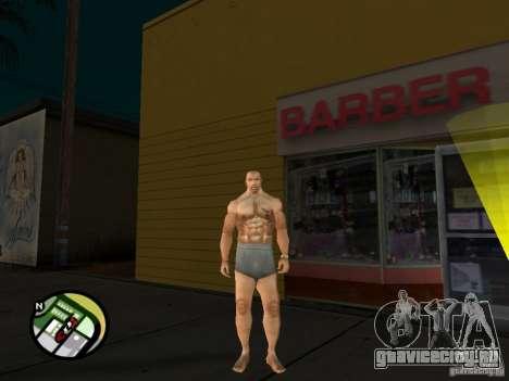 Белокожий Cj для GTA San Andreas пятый скриншот