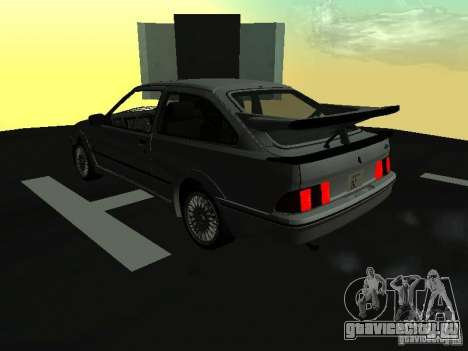 Ford Sierra RS500 Cosworth 1987 для GTA San Andreas вид слева