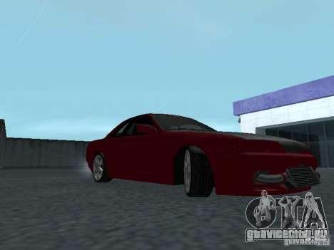 Nissan Skyline R32 Classic Drift для GTA San Andreas вид сзади