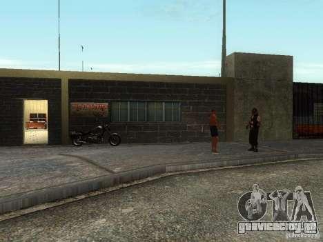 Реалистичная школа байкеров V1.0 для GTA San Andreas второй скриншот
