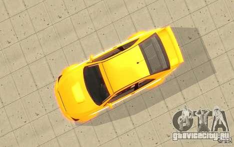 Sultan RS из GTA 4 для GTA San Andreas вид справа