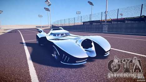 Batmobile v1.0 для GTA 4 вид изнутри