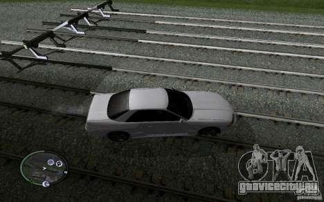Русские Рельсы для GTA San Andreas одинадцатый скриншот