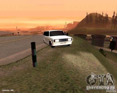 ВАЗ 2104 для GTA San Andreas вид сбоку
