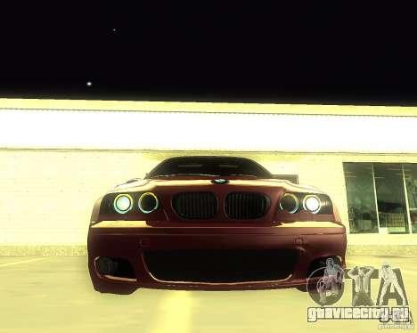 BMW 330 Ci для GTA San Andreas вид справа