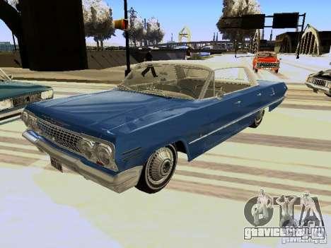 Chevrolet Impala 4 Door Hardtop 1963 для GTA San Andreas