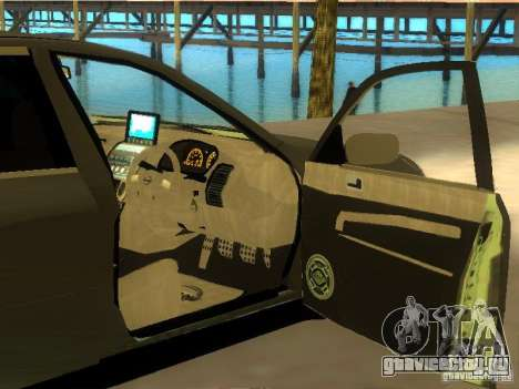 Nissan Skyline 300 GT для GTA San Andreas вид сверху