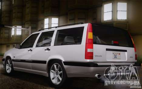 Volvo 850 Estate Turbo 1994 для GTA San Andreas колёса