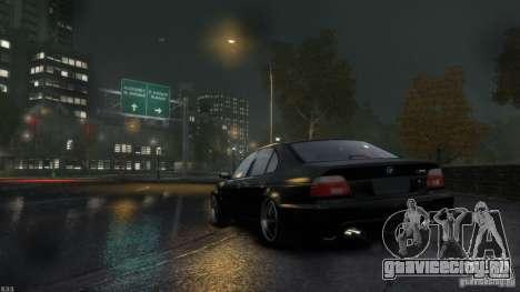 BMW M5 E39 BBC v1.0 для GTA 4 вид справа