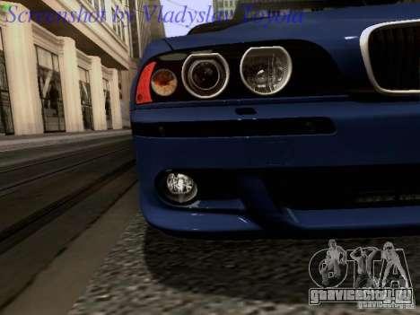 BMW E39 M5 2004 для GTA San Andreas салон