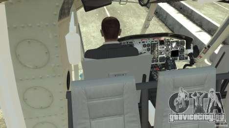 NYPD Bell 412 EP для GTA 4 вид сверху
