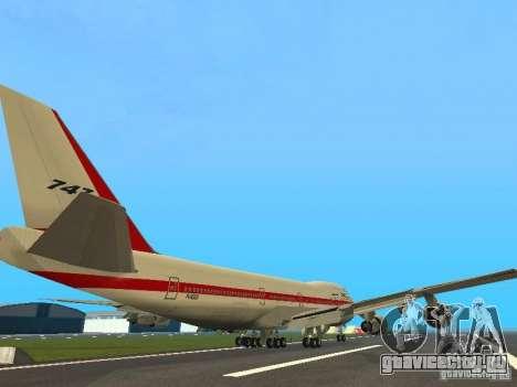 Boeing 747-100 для GTA San Andreas вид справа