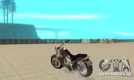 GTAIV Bobber для GTA San Andreas вид сзади слева