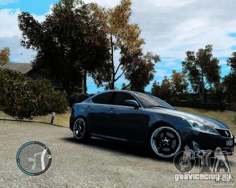 Lexus IS350 2006 v.1.0 для GTA 4 вид сбоку
