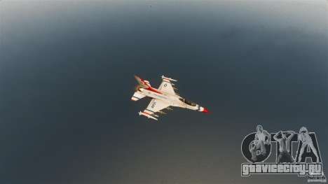 F-16C Fighting Falcon для GTA 4 вид сбоку