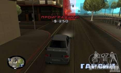 Уличные гонки для GTA San Andreas восьмой скриншот
