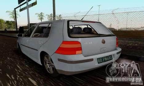 Volkswagen Golf 4 1.6 для GTA San Andreas вид слева