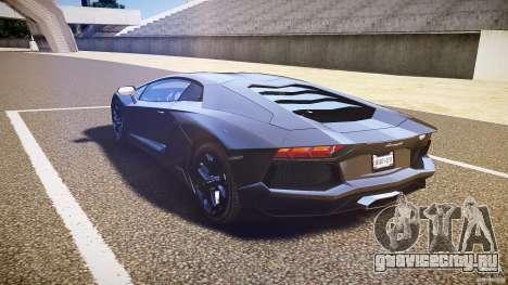 Lamborghini Aventador LP700-4 [EPM] 2012 для GTA 4 вид сзади слева